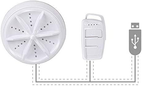 Lavadora ultrasónica, 2 en 1, mini secadora de centrifugado USB ...