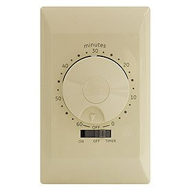 GE 15081 60-Minute Mechanical Switch Timer, Ivory