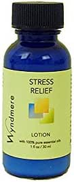 Wyndmere Stress Relief Lotion 1oz Aromatherapy Lotion with Pure Essential Oils