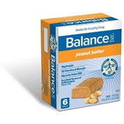 ONLY 1 IN PACK Balance Gold Peanut Butter Energy Bar, 1 Pack of 6 Bars
