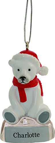 suki gifts international blank polar bear ornament