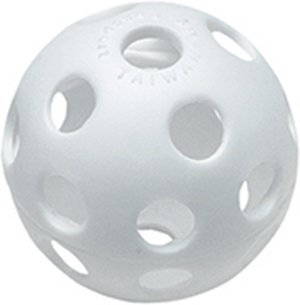 Easton 5 In Plastic Training Balls 12 Pk (Plastic Training Baseballs)