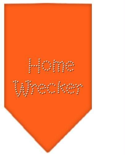 Home Wrecker Rhinestone Bandana Orange Small Case Pack 24 Home Wrecker Rhines... by DSD
