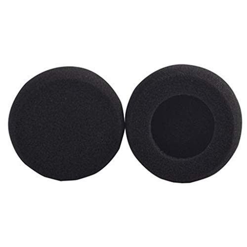 (JUNESUN 1 Pair Earpads Sponge Cushions Ear Pads Case Cover Replacement for Telex Airman 750 Aviation Headset Headphones)