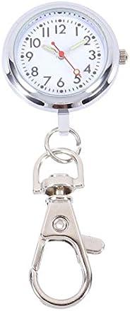 ibasenice Personalised Nurses Watch Hanging Medical Pocket Watch Dial Quartz Pocket Watch Fashion Keyring Pend