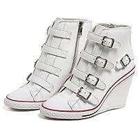 RTRY Zapatos De Mujer Cuero Auténtico Primavera Otoño