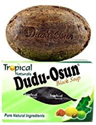 Dudu-osun African Black Soap (100% Pure) Pack of 4 (Dudu Osun Black Soap Before And After)
