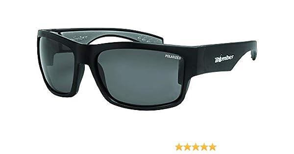 cad92d1e214 Bomber Floating Eyewear Tiger Bomb Polarized Sunglasses Matte Black Smoke