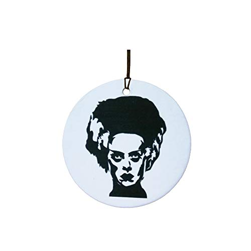 Bride of Frankenstein/Halloween Car Air Freshener]()
