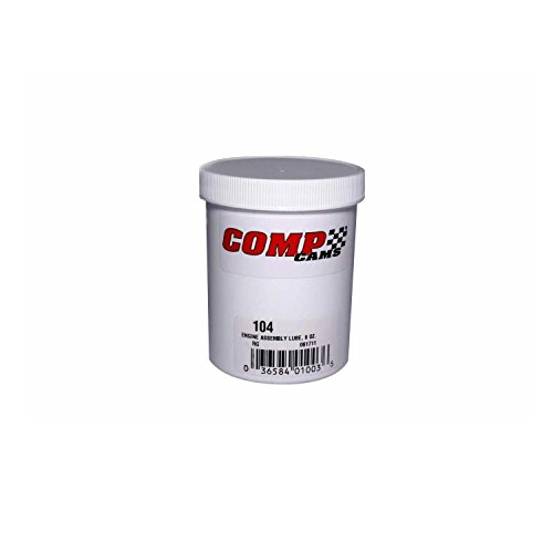 Competition Cams 104 Engine Assembly Lube, 8 oz. Jar (Cam Assembly)