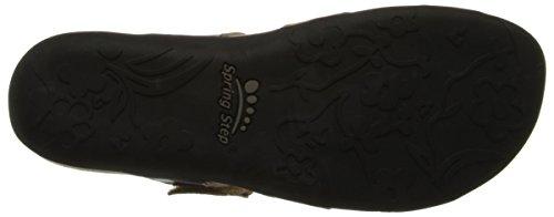 L'Artiste by Spring Step Women's Glendora Flat Sandal Black/Multi sale clearance the cheapest for sale classic cheap price dE7NPBH
