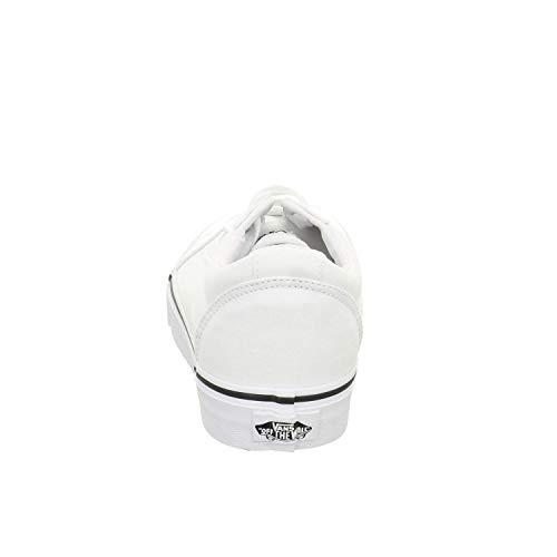 canvas White white Donna Bianco Ward Canvas Vans 7hn Sneaker nqa4xXYw
