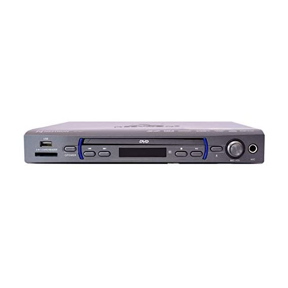 Nestron NT 601 DVD Player with 5.1 Surround Audio Output, Disc to USB Copy Function,USB/SD/MMC Supportive(Black)