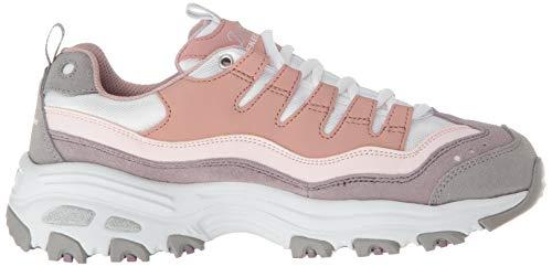 Zapatillas Skechers Azul Mujer D'lites Rosa wCECqZ68