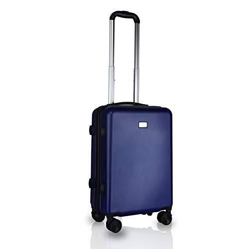 Cross Montana Polycarbonate 57 cms Blue Hardsided Cabin Luggage (ACO2292310_3-S86)