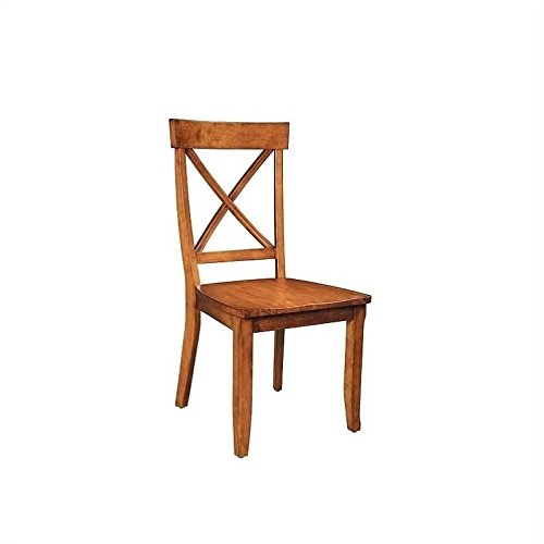 Wood Back Upholstered Chair - 4