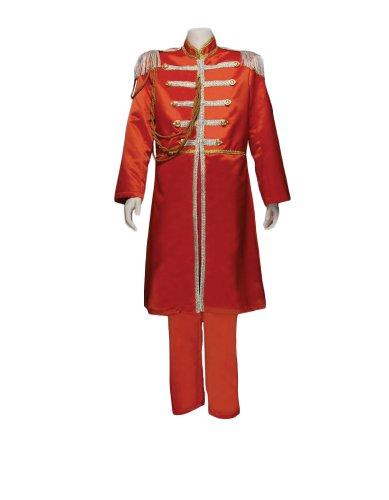 Men's Beatles Sgt. Pepper's Orange (George) Costume, XXLarge (Sgt Pepper Costume)