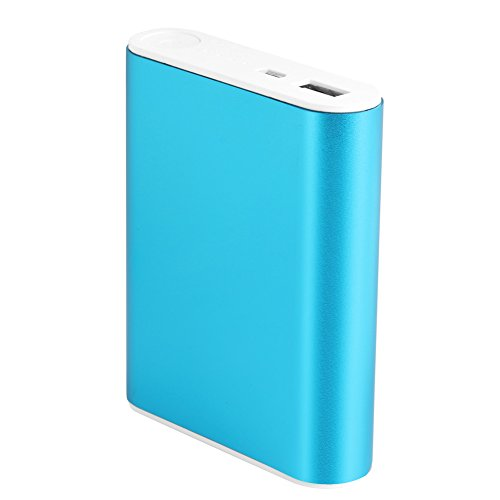 EA-STONE 10000mAh External Batteries, Ultra-Compact, High-speed Charging Technology USB Power Bank for iPhone, Samsung Galaxy and More (blue)