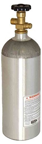 Beverage Elements Aluminum Cylinder CO2 Tank with CGA320 Valve – 5lb.