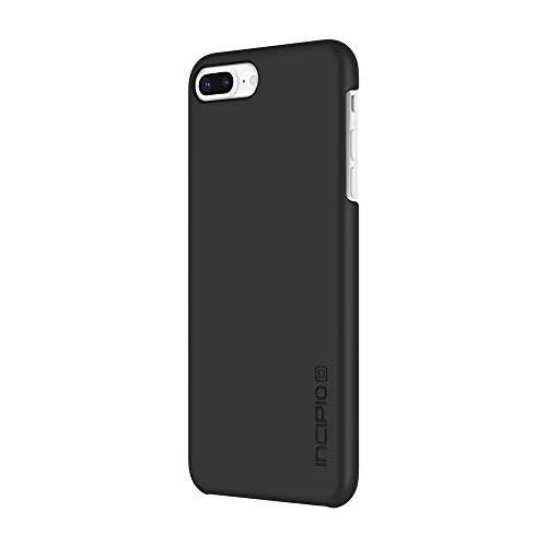 Incipio Feather iPhone 8 Plus Case with Ultra-Thin Snap-On Design for iPhone 8 Plus - Black