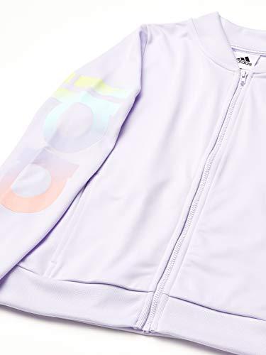 adidas Girls' Active Sports Athletic Tricot Bomber Jacket
