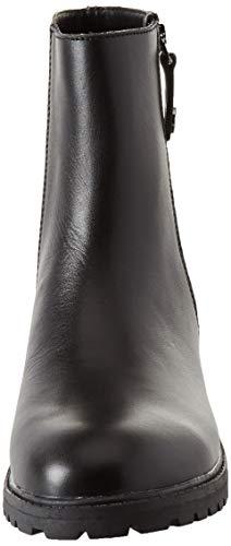 Jeans nero Versace Biker Nero Stivali Donna E899 axd1URqd