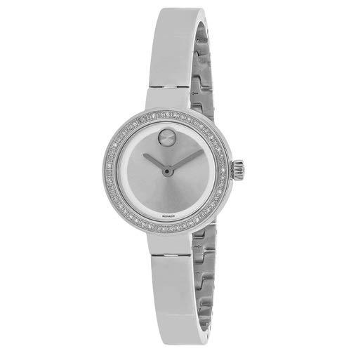 Movado Womens Bold 3600321 Quartz Silver Band Silver Dial