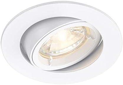 White Tiltable Recessed Spot Light