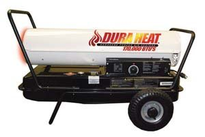 Dura Heat Forced AIR Heater, White and Black (Kerosene Forced Air Heater Parts)
