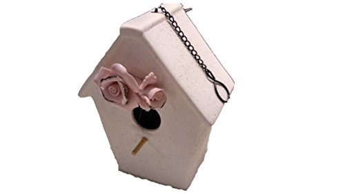 Decorative Birdhouse - Ceramic Birdhouses - Birds Will Just Love to Nest in it - Chickadee Birdhouse - Finch Birdhouse - Wren Birdhouse - Birdhouses For Outside - Birdhouses Decorative