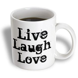Patricia Sanders Inspirations - Live Laugh Love - 15oz Mug (mug_23672_2)