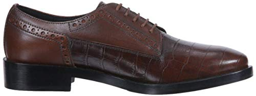 Scarpe Stringate Brown Geox Derby Donna C0013 Brogue Marrone B EqxnvARB4