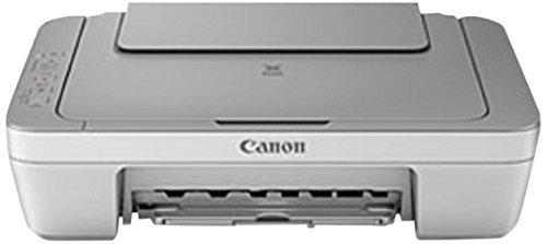 Canon Pixma MG2450 Farbtintenstrahl-Multifunktionsgerät (Drucker, Kopierer, Scanner, USB) grau