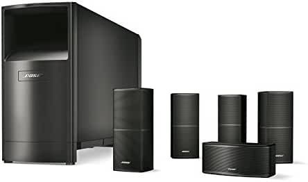 Bose Acoustimass 10 Series V Home Theater Speaker System (Black)