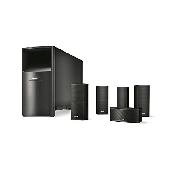 Bose Acoustimass 10 Series V Home Theater Speaker System 1 The best performing Acoustimass system from Bose delivers spacious surround sound for larger rooms Redesigned Direct/Reflecting Series II speakers have a slimmer profile and can mount flush to your wall Powerful low note effects from powered Acoustimass module with two high performance drivers