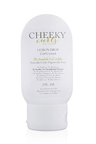 Cheeky Curls – Natural Hair Care Product – Lemon Drop Curl Custard Gel 2 oz.
