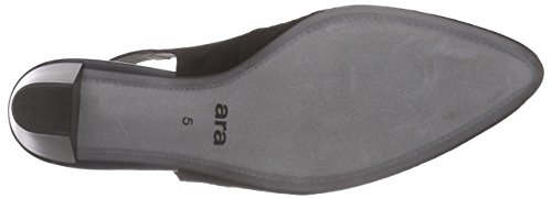 ara Knokke - zapatos de tacón cerrados de cuero mujer Negro - negro (negro 01)