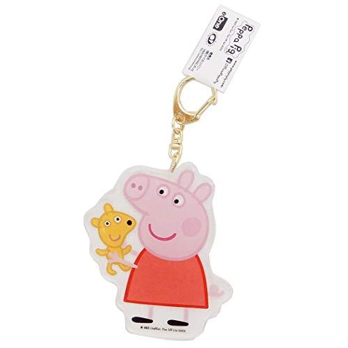 Peppa Pig/Acrylic die-Cut Keychain/Peppa - Die Keychain Cut