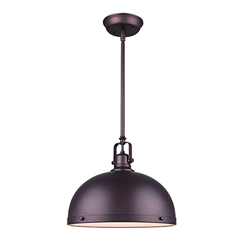 Canram IPL298B01ORB-L Polo Ceiling Pendant Light with Oil Rubbed Bronze Finish