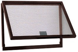 C.R. LAURENCE AW500BA CRL Bronze Finish Aluminum Screen Wicket with Aluminum Screen Wire