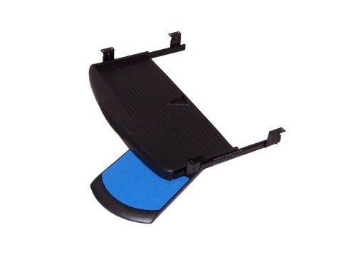 Negro de teclado deslizable con raton y teclado almohadilla extension portapapeles teclado cajon pc teclado