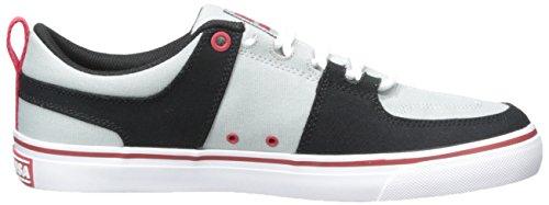 DC Shoes Lynx Vulc Tx Skate zapatos gris/rojo