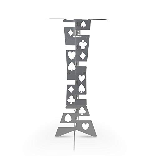 Doowops Aluminum Magic Folding Table (Alloy), Magician's Best Table, Stage, Close-up, Illusions, Accessories (Silver) by Doowops (Image #5)