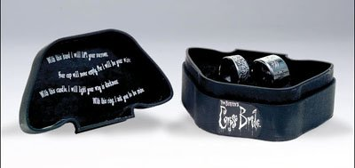 Corpse Bride Collectibles Rings Boxed Set