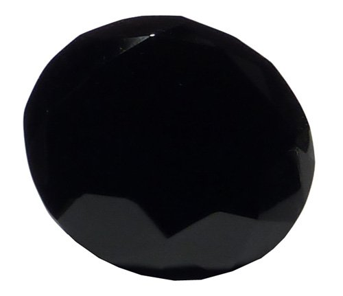 (Black Crystal Glass Diamond Paperweight 3.15