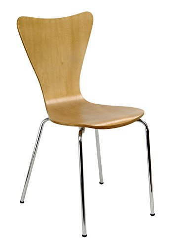 Legare Furniture Perfect Sit Bent Ply Chair, Natural