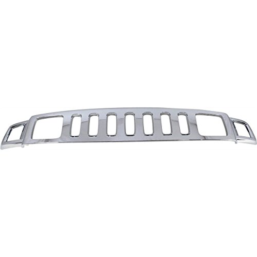 Price comparison product image New Front Grille For 2006-2010 Hummer H3 & 2009-2010 Hummer H3T Chrome HU1200101 15834196