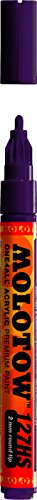 Molotow ONE4ALL Acrylic Paint Marker, 2mm, Purple Violet, 1