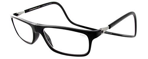 (Clic Magnetic Executive Reading Glasses (Black, 3.5))