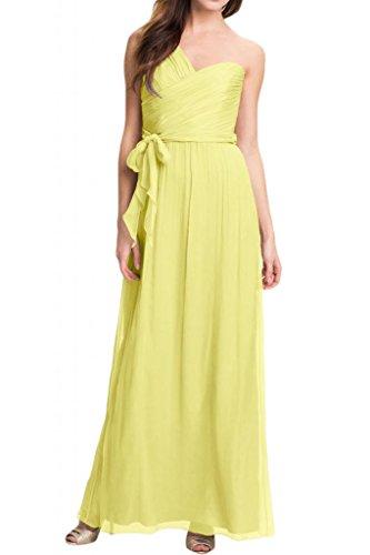 TOSKANA BRAUT - Vestido - trapecio - para mujer amarillo